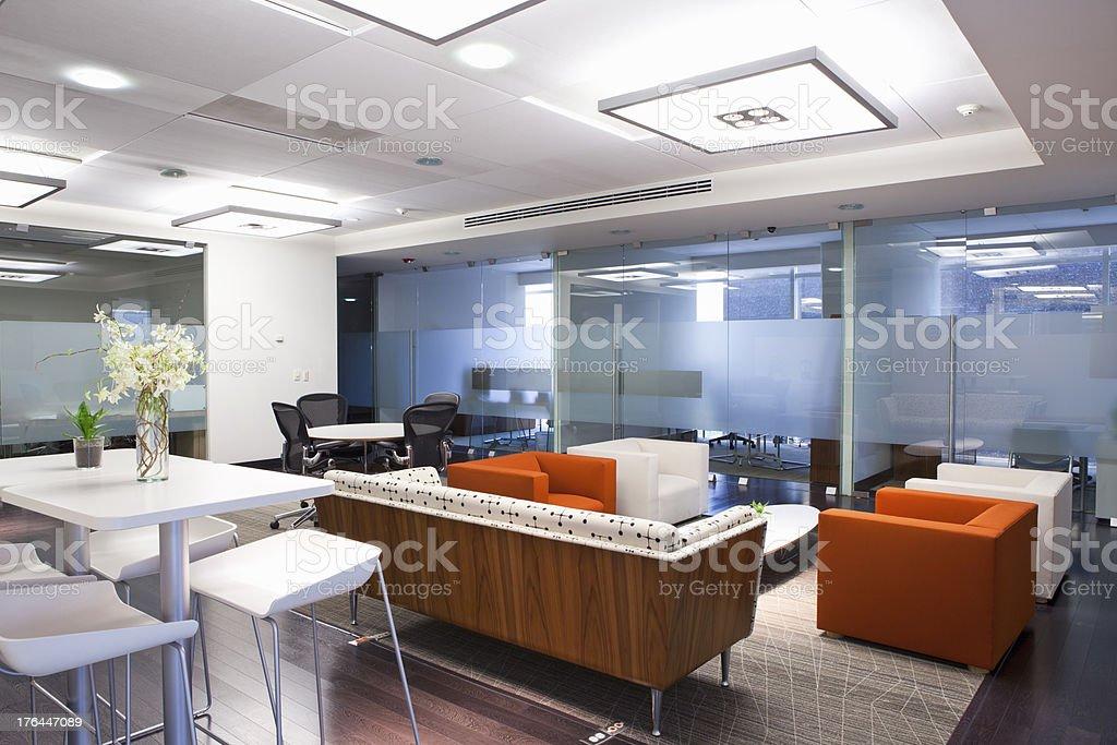 Business Lounge stock photo