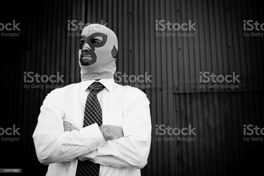 Business Luchador royalty-free stock photo