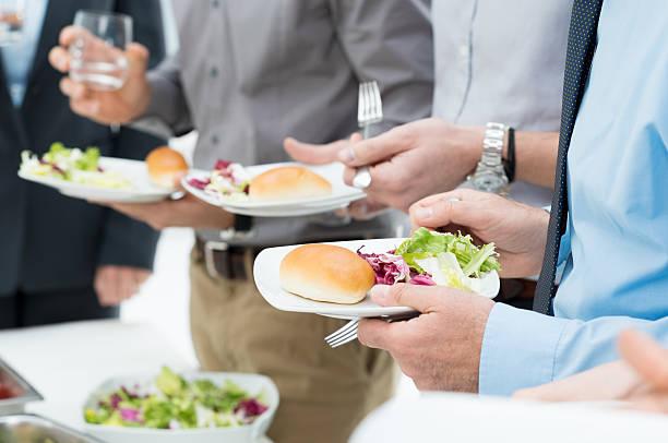 business lunch detail - lunchrast bildbanksfoton och bilder