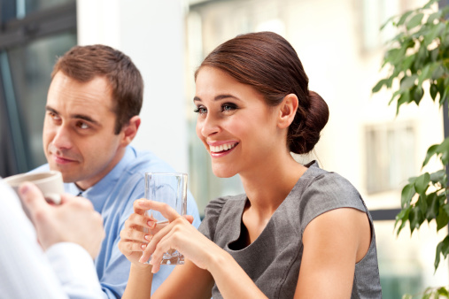Business Lunch Stock Photo - Download Image Now