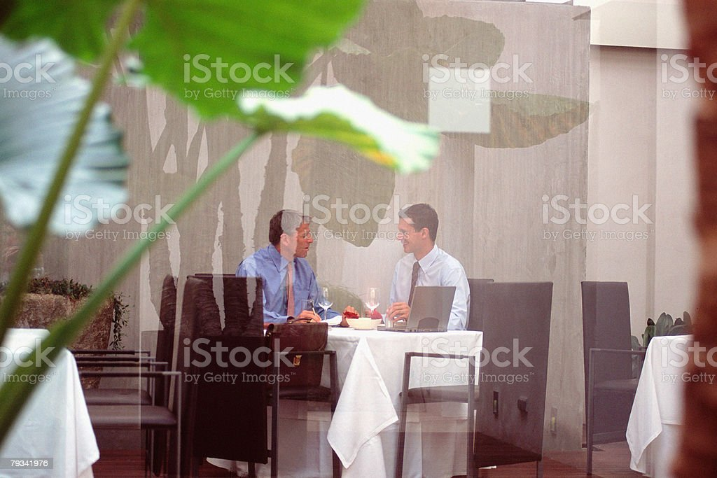 Business lunch 免版稅 stock photo