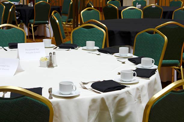 biznes obiad - sala balowa zdjęcia i obrazy z banku zdjęć