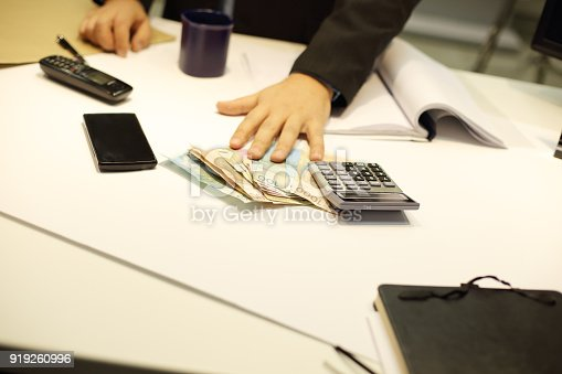 659493026 istock photo Business making notes 919260996