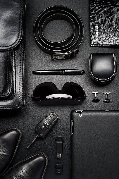business man accessories - personal accessory stock photos and pictures