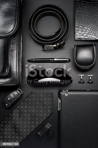 625840656 istock photo Business man accessories 993962160