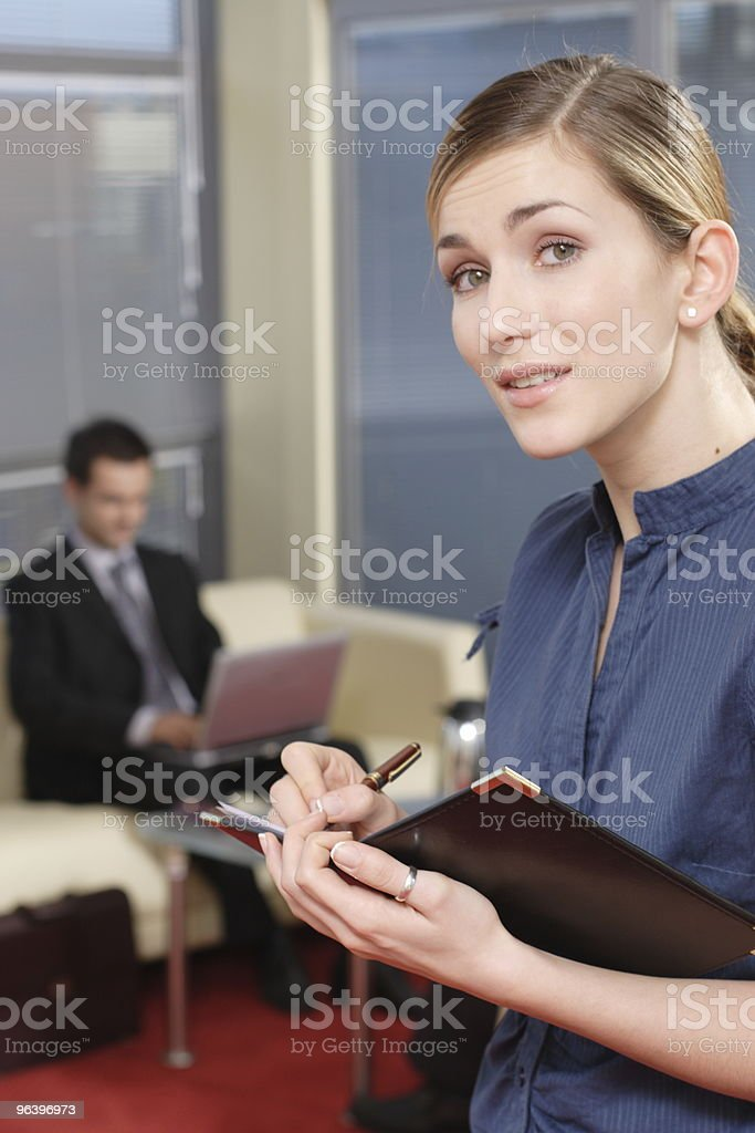 Business man and woman in the office part 1 - Royalty-free Adult Stock Photo