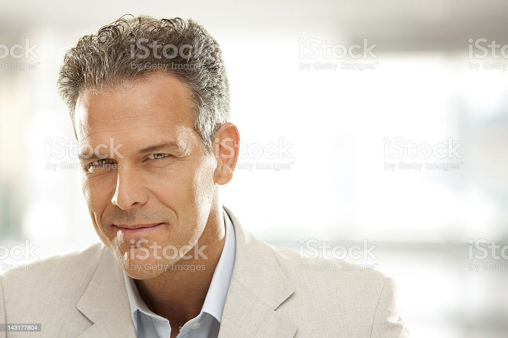 Business man at work royalty-free stock photo