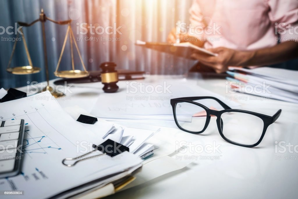 Business man discussing very seriously in the workplace, teamwork hipster vintage style. stock photo