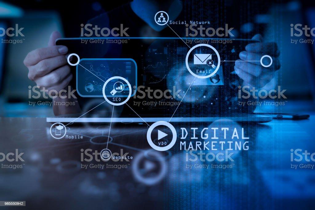 Digital Marketing Stock Photos  Pictures  U0026 Royalty