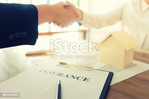 512011833istockphoto Business man handshake for sucess 952318002