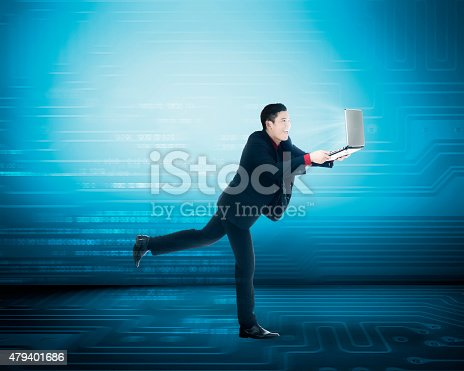 513396643 istock photo Business man have fast internet access 479401686
