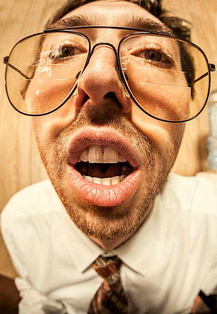 Royalty Free Ugly People With Glasses Pictures, Images and