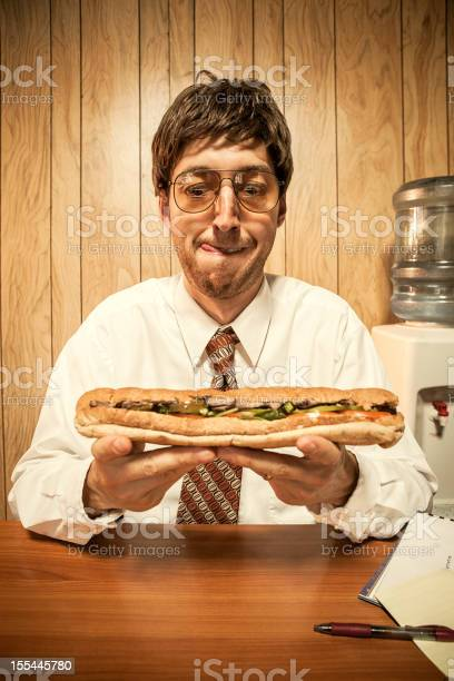 Business man in office with sandwich picture id155445780?b=1&k=6&m=155445780&s=612x612&h=mcdzlltgpvmy9rfyywqlifil2jfab72jwcafzgy32lo=