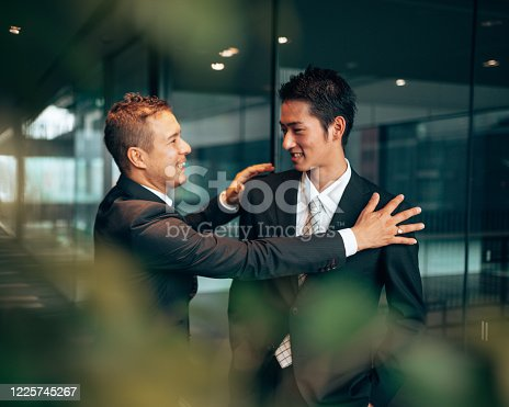 647200468 istock photo business man laughing during the meeting 1225745267