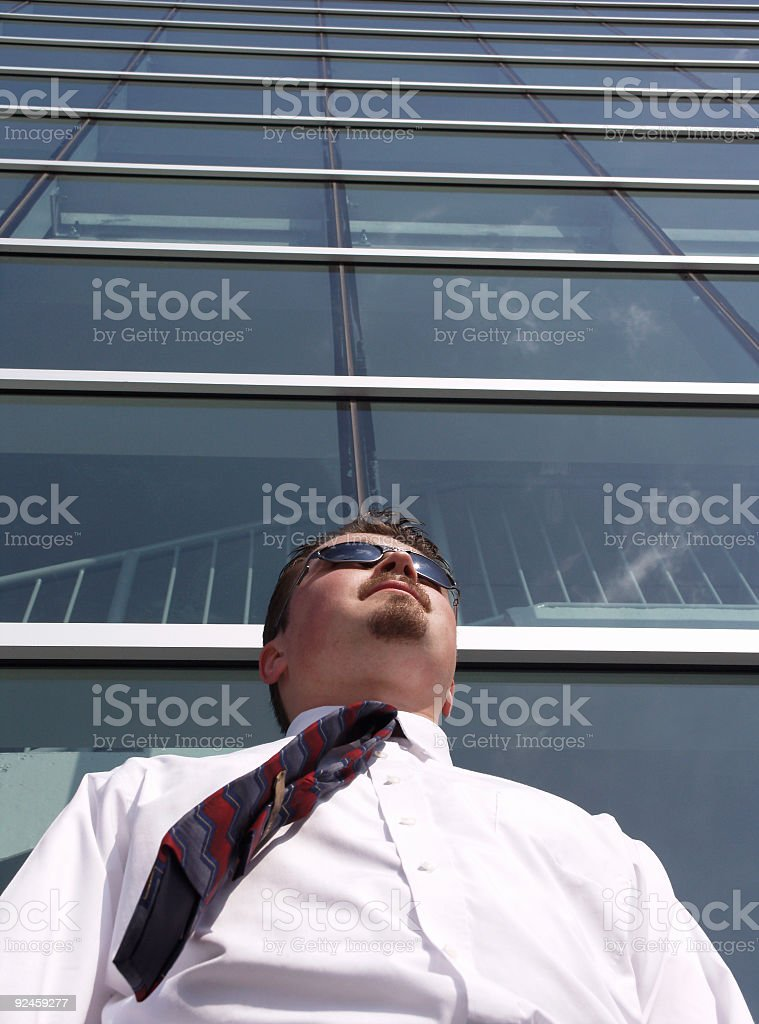 Business Man Perspective stock photo