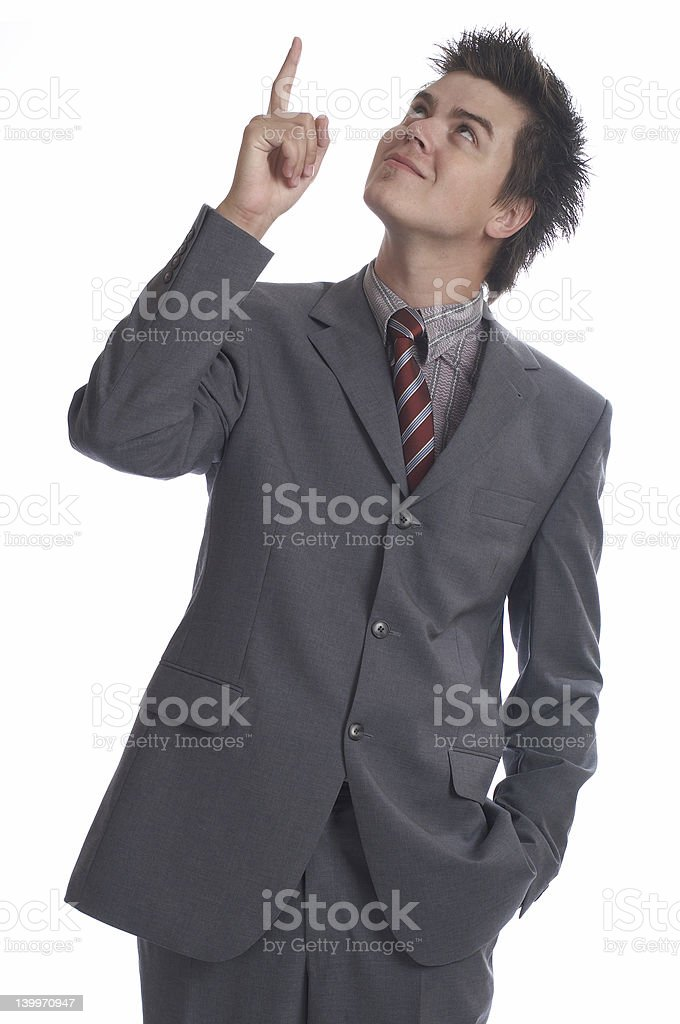 Business Man (the series) stock photo