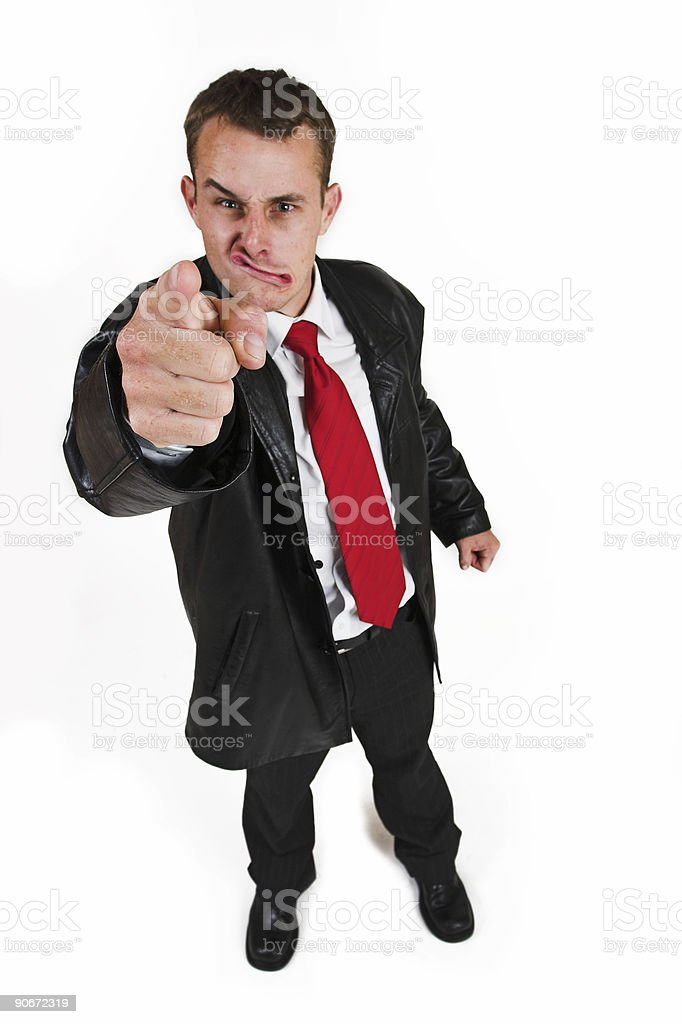 Business man #29 royalty-free stock photo