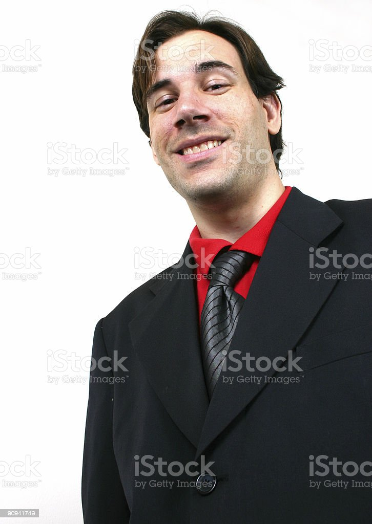 Business man (series) royalty-free stock photo