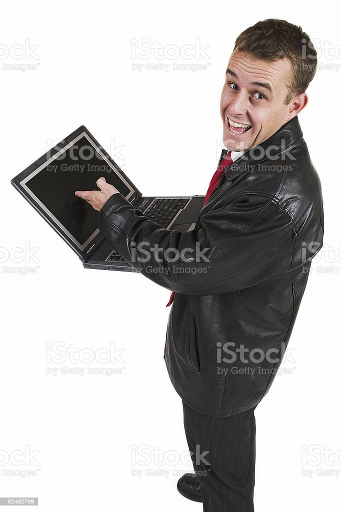 Business man #18 royalty-free stock photo