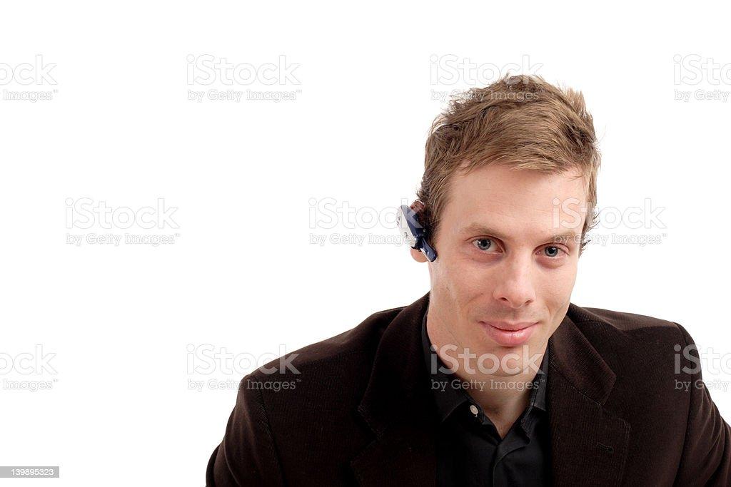 Business man portrait royalty-free stock photo