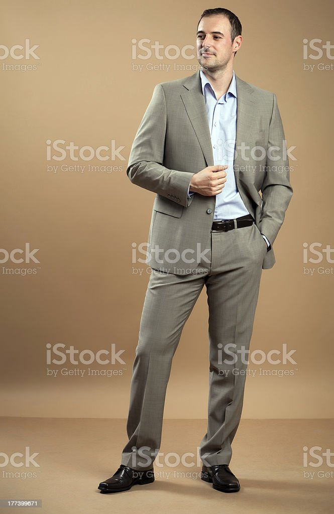 Business Man Portrait royalty-free stock photo