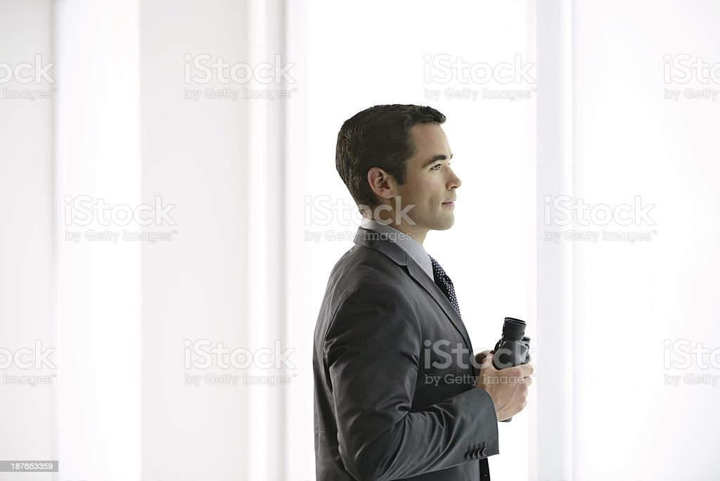 Business Man ready for new opportunities royalty-free stock photo