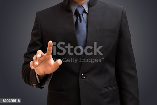 istock Business man select 692925518