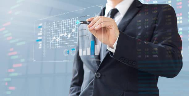 business mann show plus markt aktienanlage - plus stock-fotos und bilder