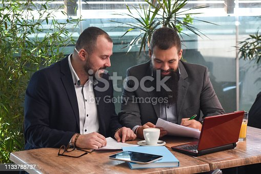 501040002istockphoto Business man signing a contract 1133788737