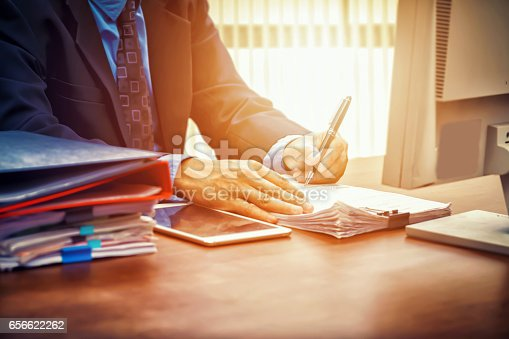 659493026 istock photo business man signing contract making a deal 656622262