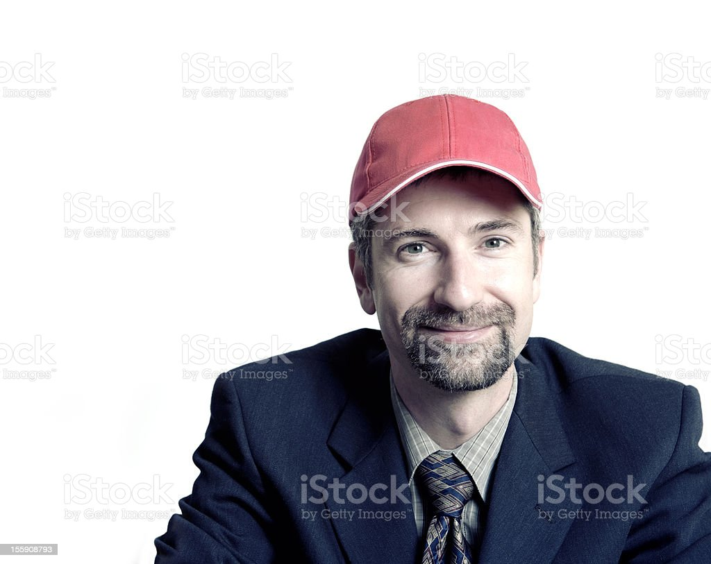 Business Man, Team Player royalty-free stock photo