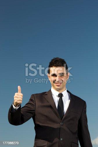 179607668istockphoto Business Man Thumb up 177388270