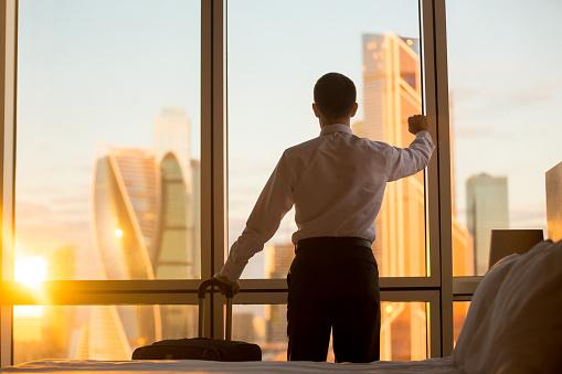 istock Business man trip 524160832