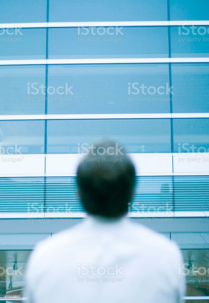 Business Man Turned royalty-free stock photo
