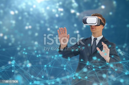 istock business man use augmented mixed virtual reality technology with artificial intelligence concept 1188157808