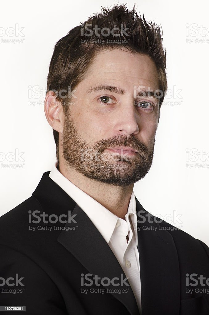 Business man - well groomed royalty-free stock photo