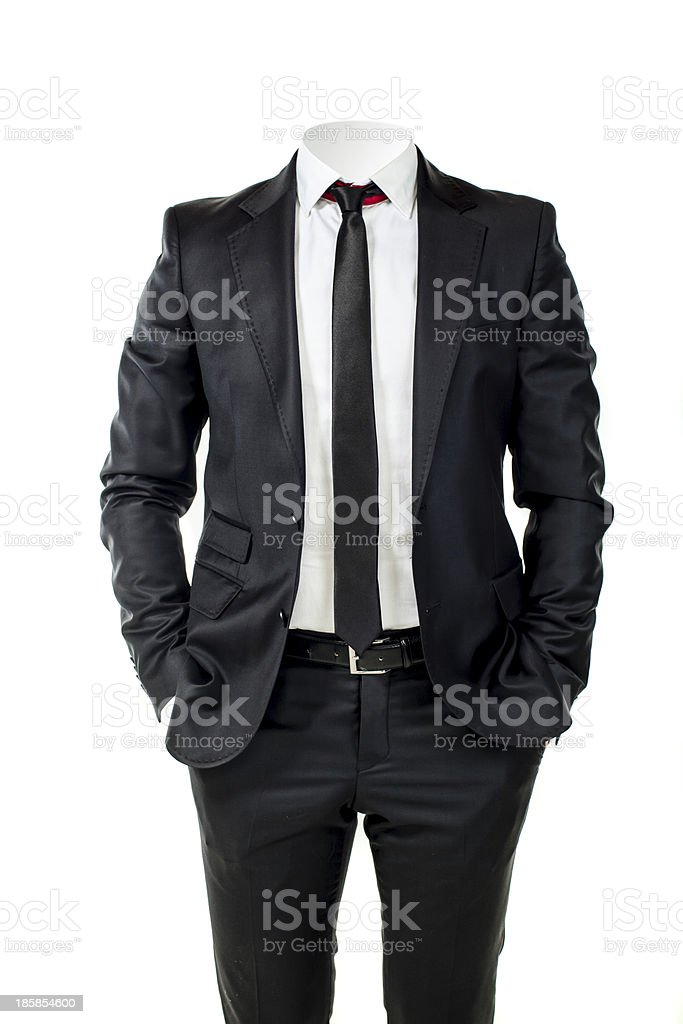 business man without head royalty-free stock photo