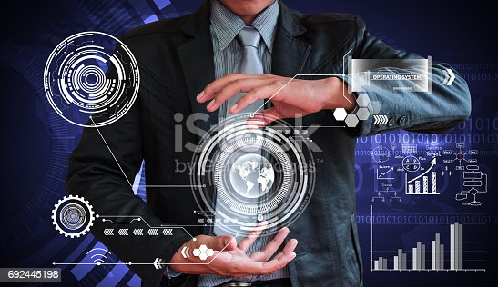 istock business man writing concept of business process improve 692445198
