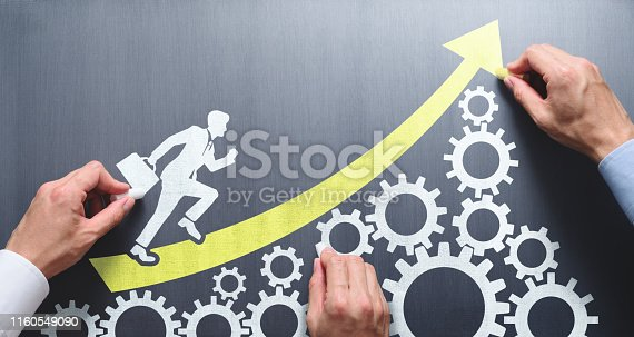 istock Business management and teamwork concept. 1160549090