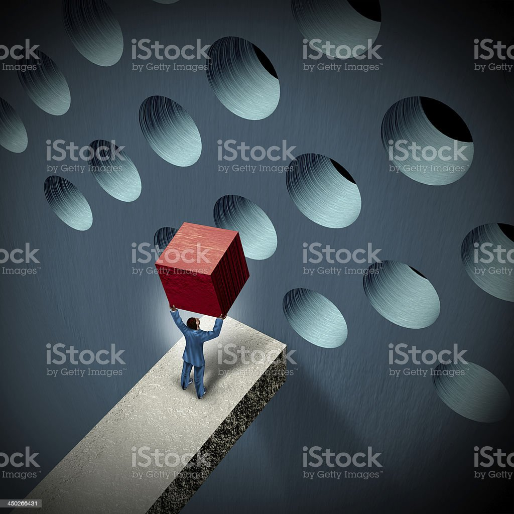 Business Management Challenges stock photo
