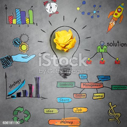 istock Business management concept 636181190
