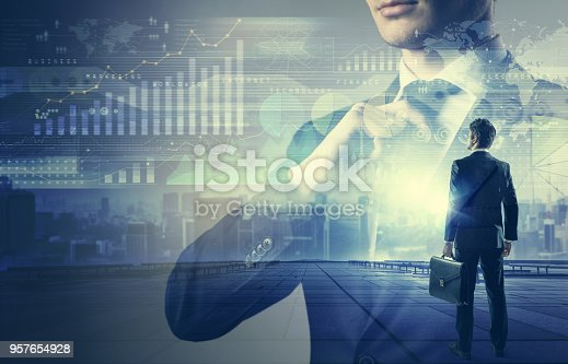 1079974636 istock photo Business management concept. 957654928