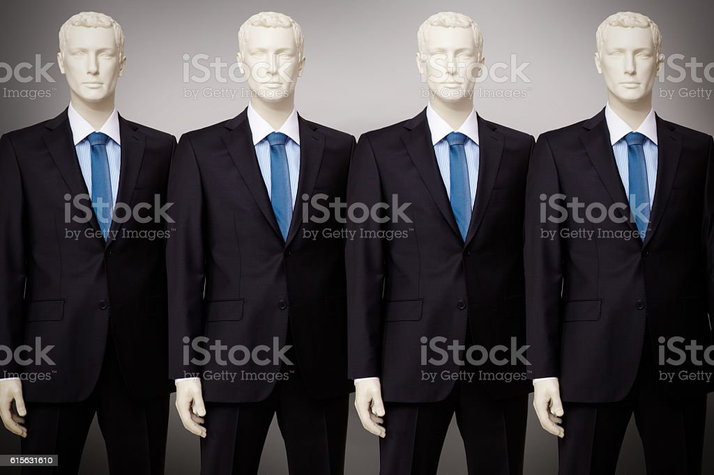 Business mannequin stock photo