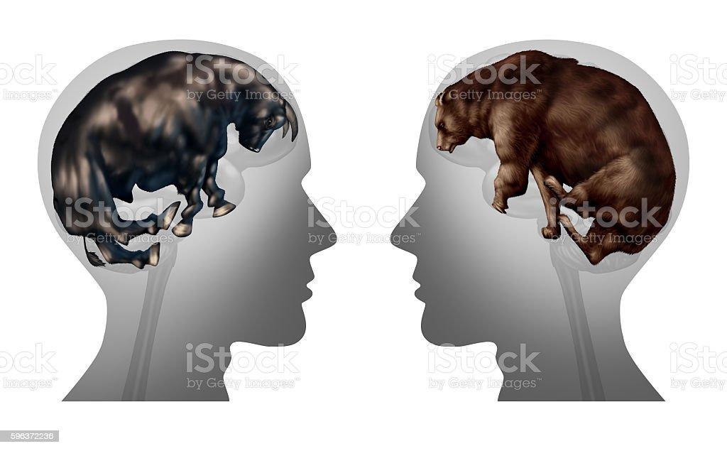Business Market Investing Thinking stock photo