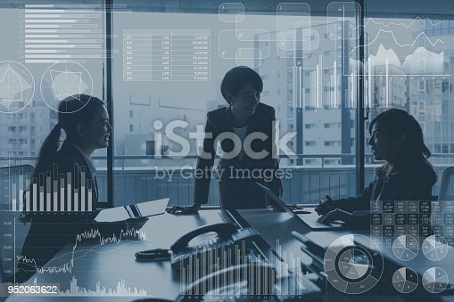 952991586istockphoto Business marketing and management concept. 952063622