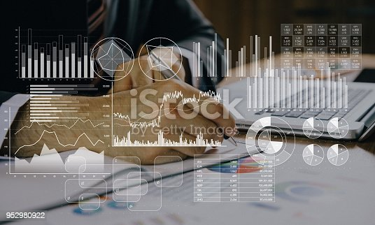 istock Business marketing and management concept. 952980922