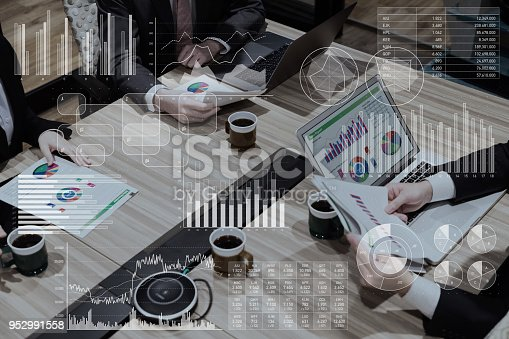 istock Business marketing and management concept. 952991558