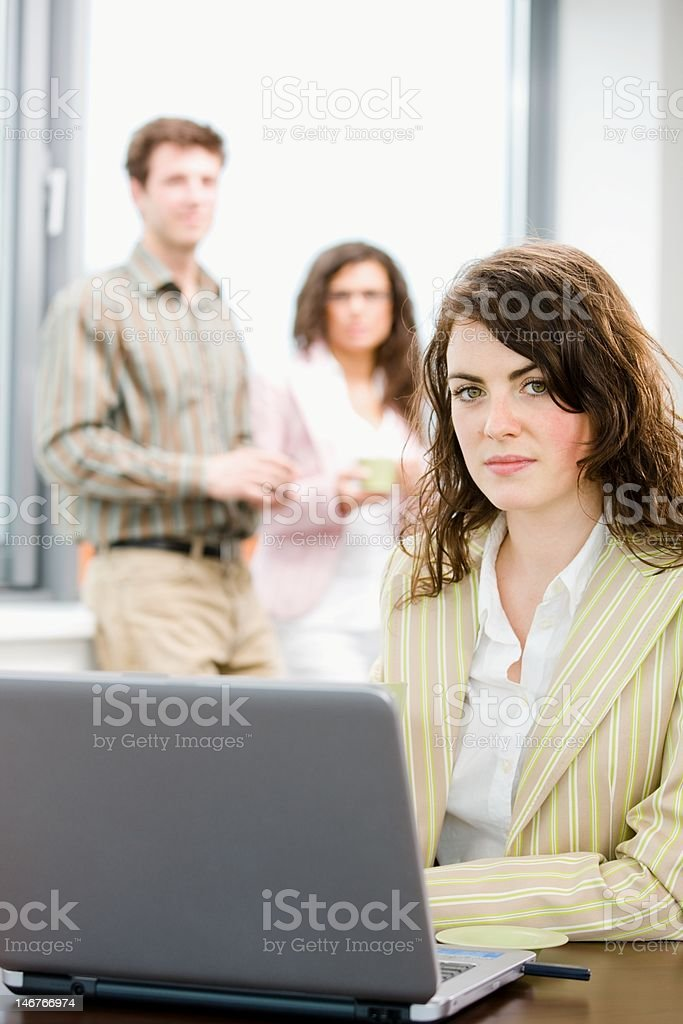 Business meeting at office royalty-free stock photo