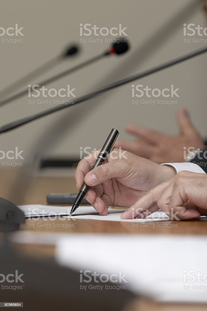business meeting conference royalty-free stock photo