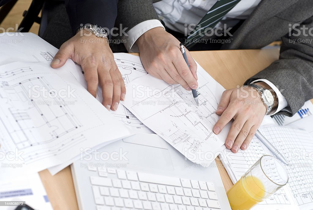 business meeting detail royalty-free stock photo